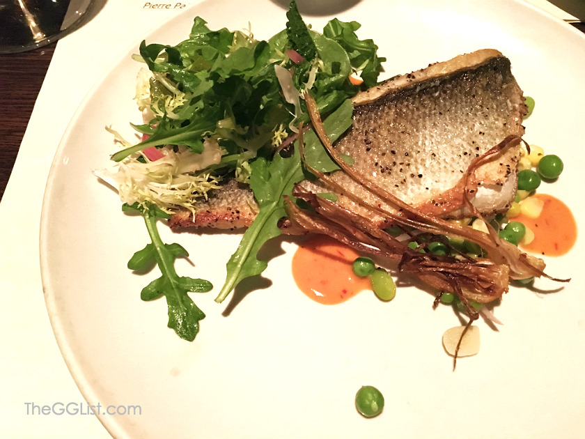 Pan-Seared Branzino