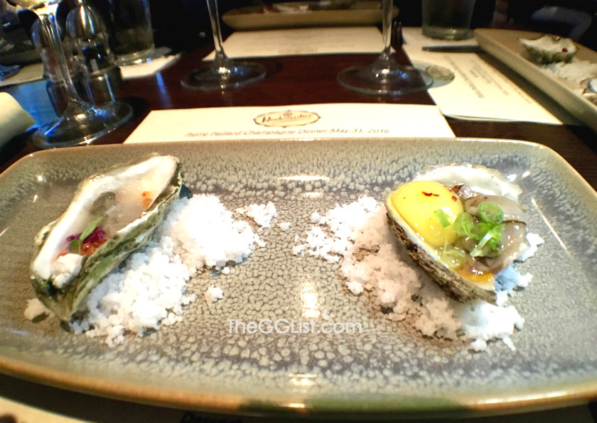 Duo of Oysters