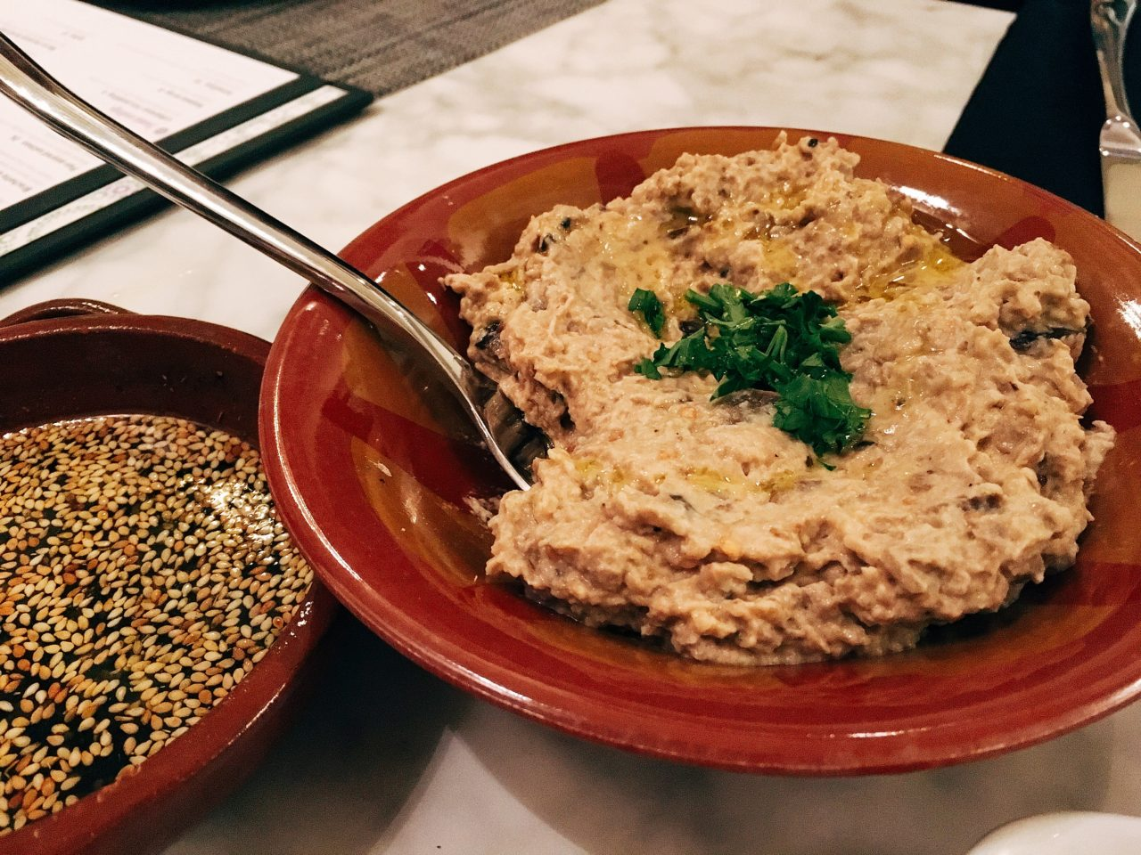 Baba ghannouj - Lebanese Food - Zatar Dallas - Deep Ellum Restaurants