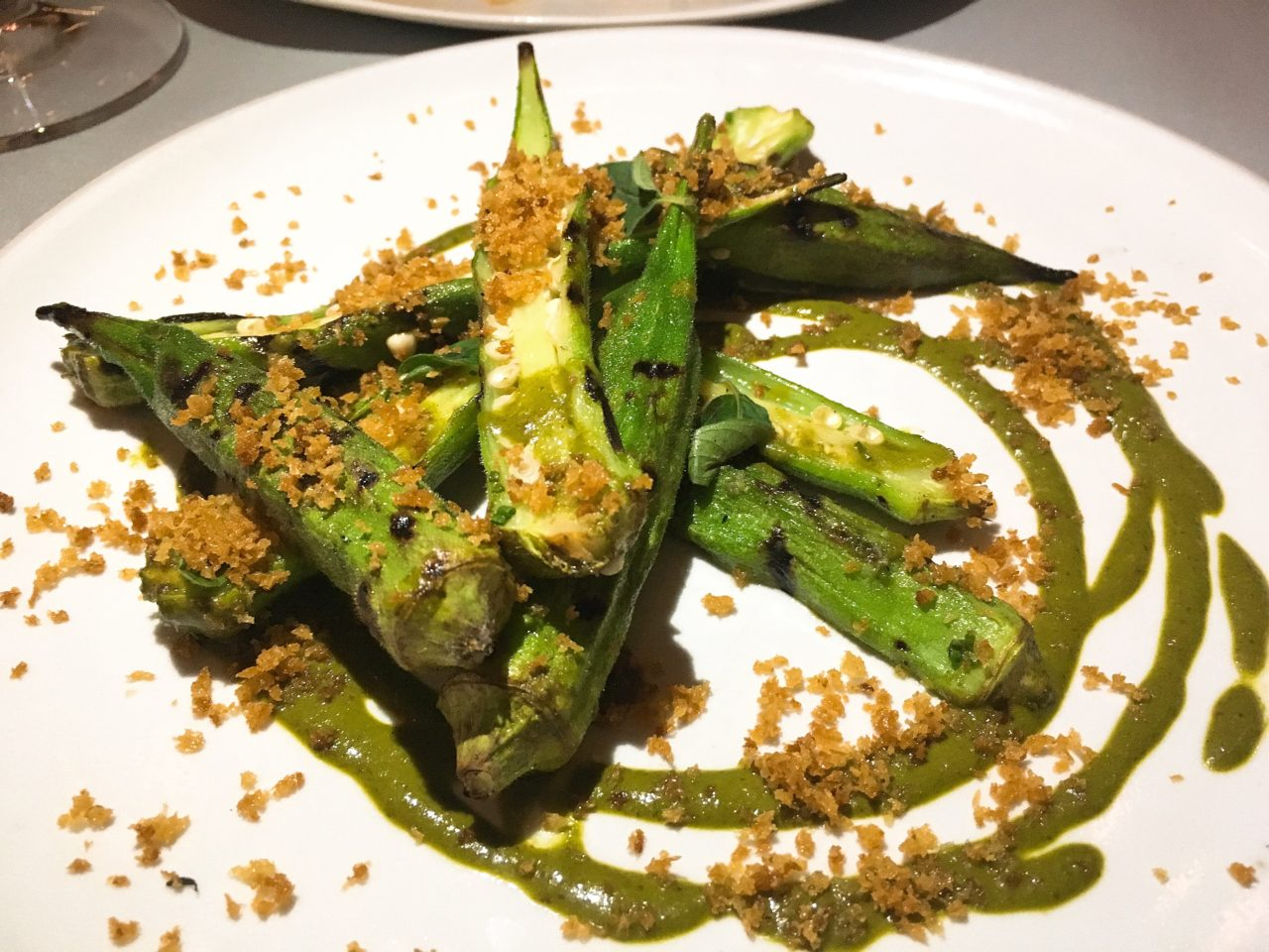 The GG List - Grilled Okra - Mirador Dallas - Dallas - Downtown Dallas - Joule Concepts - Rooftop Dining