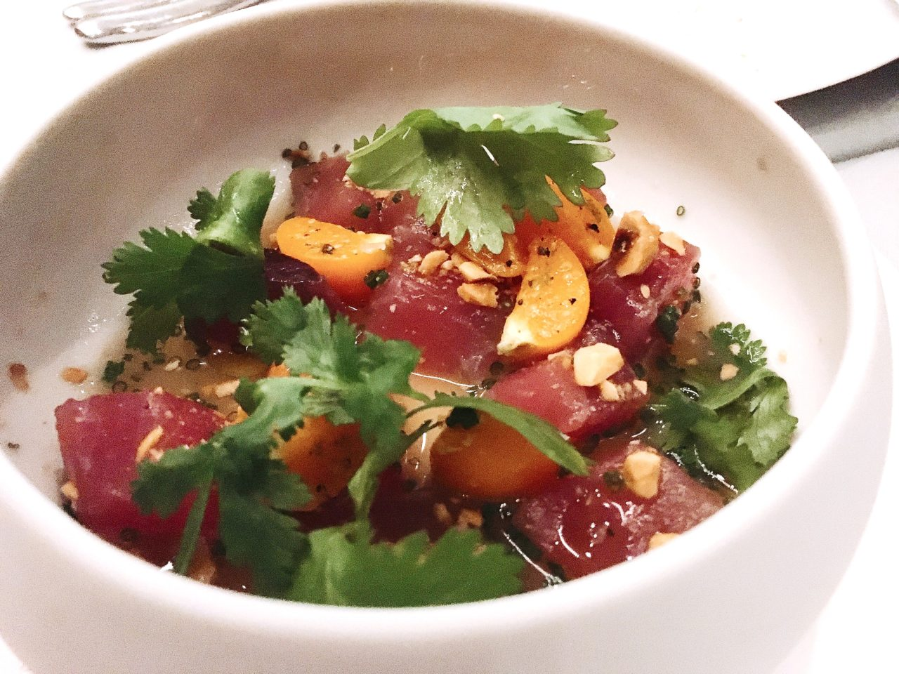 Tuna Crudo - The GG List -Mirador Dallas - Dallas - Downtown Dallas - Joule Concepts - Rooftop Dining
