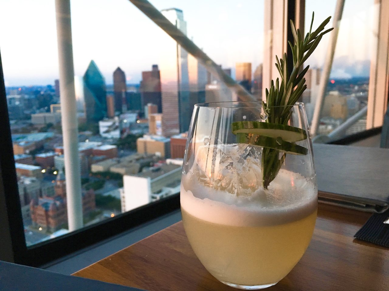 The GG List - Pins and Needles - Wolfgang Puck 560 - Dallas Skyline - Dallas