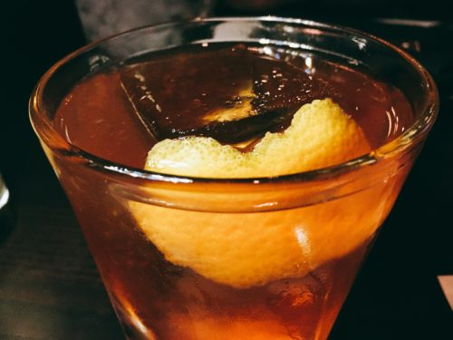 Don't Tell Supper Club - Downtown Dallas - Bulleit Old Fashioned - Dallas Bars
