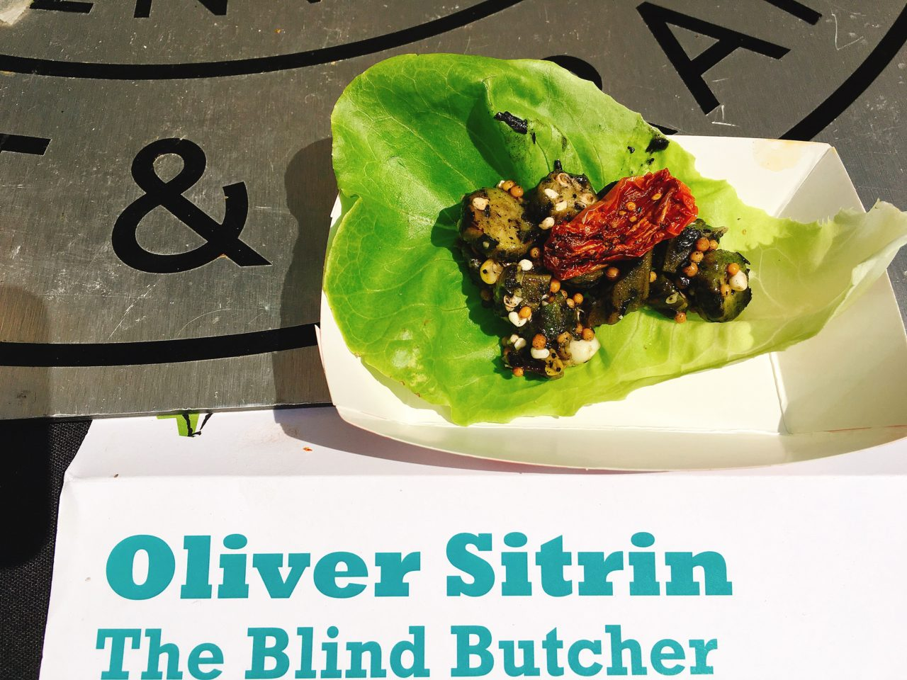 Okrapalooza 2017 - Chef Oliver Sitrin - The Blind Butcher - The GG List