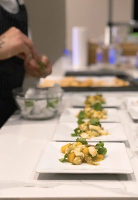 Chef Diego Montoya - Dallas Dinner Party - Dallas Chef - Dallas - Private Dining Dallas - Crudo - The GG List